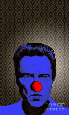 Christopher Walken 1 Poster by Jason Tricktop Matthews