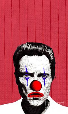 Christopher Walken 2 Poster by Jason Tricktop Matthews