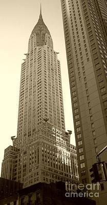 Chrysler Building Poster by Debbi Granruth