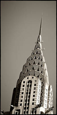 Chrysler Building New York City Poster by Juergen Held