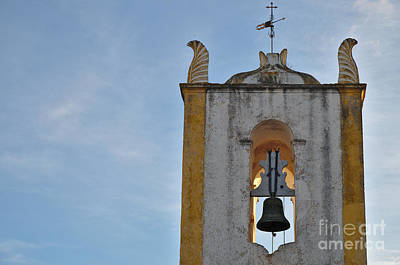 Church Of Santiago Bell Tower In Tavira. Portugal Poster by Angelo DeVal