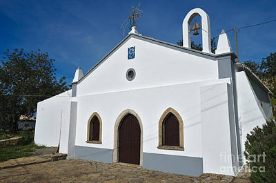 Church Of St. Michael The Archangel In Algarve Poster by Angelo DeVal