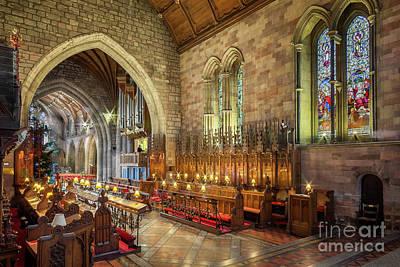 Church Organist Poster by Adrian Evans