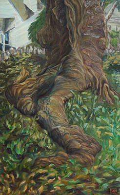 Cicada Tree Poster by Rachel Moore