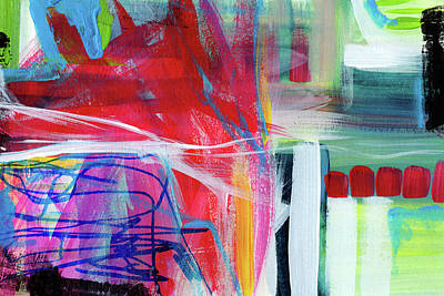 Circadian Rhythm 3- Abstract Art By Linda Woods Poster by Linda Woods