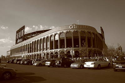 Citi Field - New York Mets 14 Poster by Frank Romeo