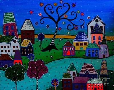 Ciudad Maravillosa Poster by Pristine Cartera Turkus