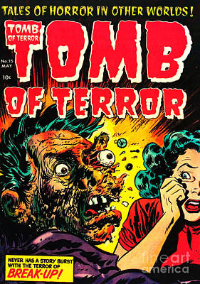 Classic Tomb Of Terror 15 Poster by Halloween Dreams