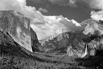 Clearing Skies Yosemite Valley Poster by Tom and Pat Cory