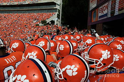 Clemson Tigers Poster by Taylor C Jackson