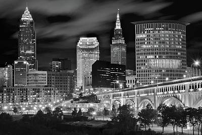 Charcoal Night  Poster by Frozen in Time Fine Art Photography