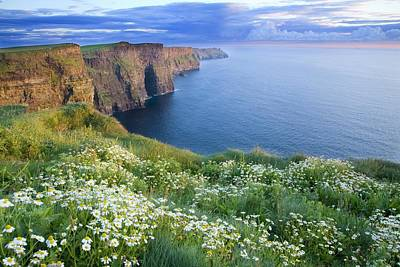 Cliffs Of Moher, Co Clare, Ireland Poster by Gareth McCormack
