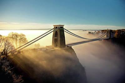 Clifton Suspension Bridge Poster by Paul C Stokes