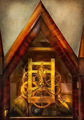 Clocksmith - Clockwork  Poster by Mike Savad