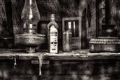 Closing Time Bodie Ghost Town Poster by Roger Passman