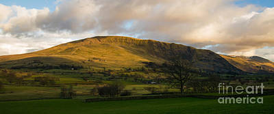 Clough Head At Sunset Poster by John Collier