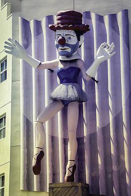 Clown Ballerina Poster by Garry Gay