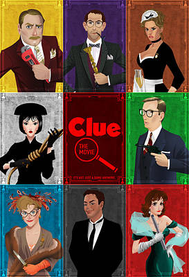 Clue Poster by Christopher Ables