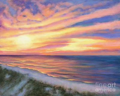 Coastal Sunrise Poster by Denise Wood