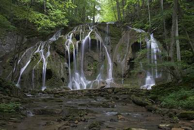 Cobweb Falls - Virginia Waterfalls Photos Series Poster by Matt Plyler