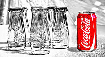 Coca-cola Ready To Drink By Kaye Menner Poster by Kaye Menner