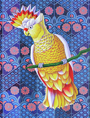 Cockatoo Poster by Jane Tattersfield