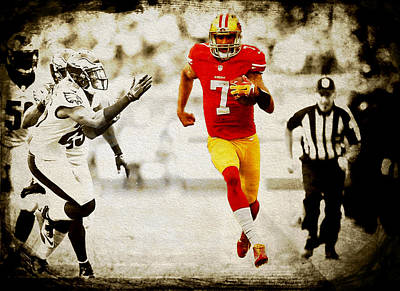 Colin Kaepernick 2a Poster by Brian Reaves