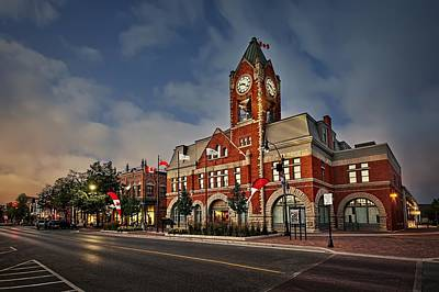 Collingwood Townhall Poster by Jeff S PhotoArt