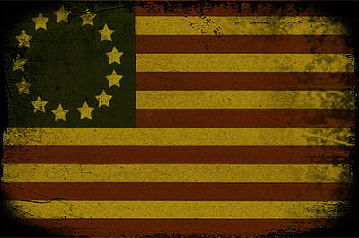 Colonial Flag Poster by Bill Cannon