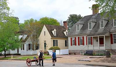 Colonial Williamsburg 4 Poster by Todd Hostetter