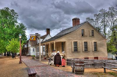 Colonial Williamsburg 5 Poster by Todd Hostetter