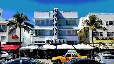 Colony Hotel  Poster by Roesch