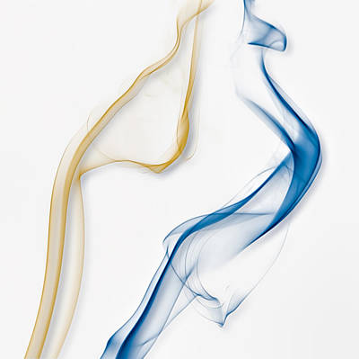 Color And Smoke IIi - Dance Poster by Scott Norris