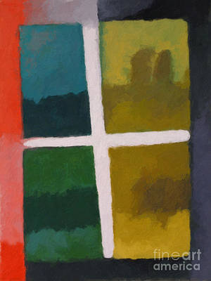 Color Window Poster by Lutz Baar