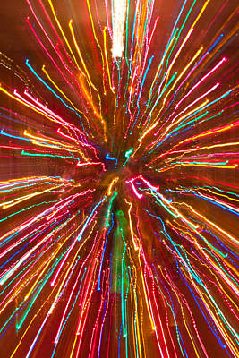 Colorful Abstract Photography Poster by James BO  Insogna
