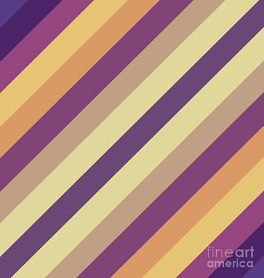 Colorful Lines Poster by Amir Faysal