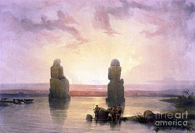 Colossi Of Memnon, Valley Of The Kings Poster by Science Source