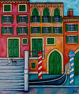 Colours Of Venice Poster by Lisa  Lorenz