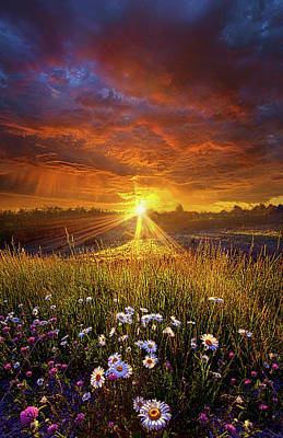 Come Again Another Day Poster by Phil Koch