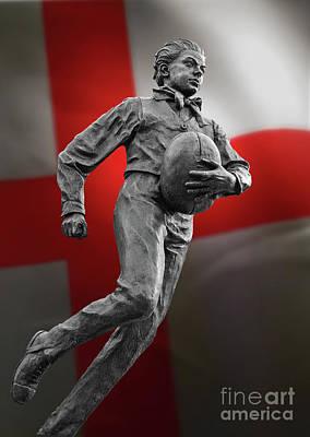 Com'on England  Poster by Tony Baker