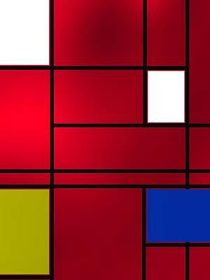 Composition 6 Poster by Alberto RuiZ