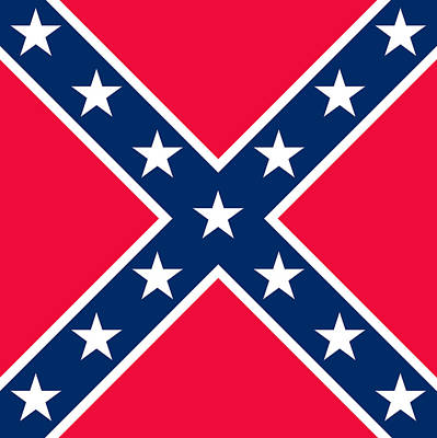Confederate Flag Poster by American School