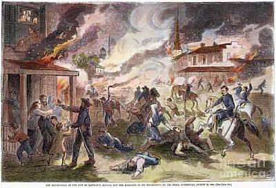 Confederate Guerillas 1863 Poster by Granger