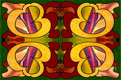 Conscious Cooperations Abstract Art By Omashte Poster by Omaste Witkowski