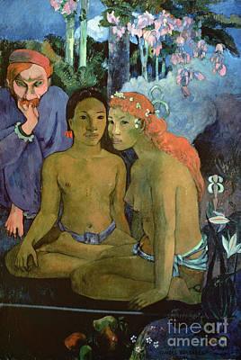 Contes Barbares Poster by Paul Gauguin