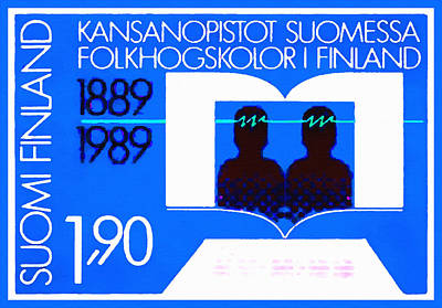 Continuing Education In Finland Poster by Lanjee Chee