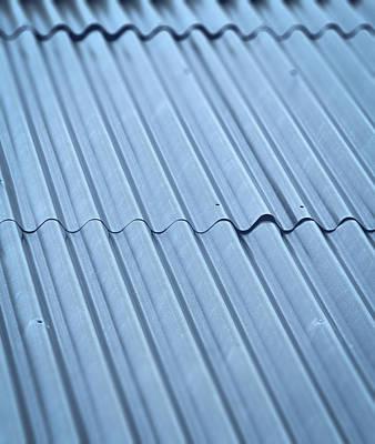 Corrugated Iron Roof Poster by Jozef Jankola