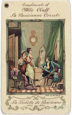 Corset Trade Card, 1912 Poster by Granger