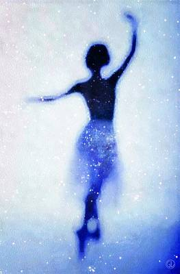 Cosmic Dance Poster by Gun Legler