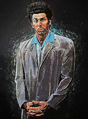 Cosmo Kramer Poster by Taylan Soyturk
